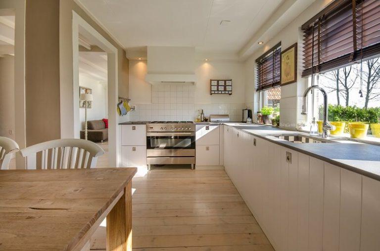 Werten Sie Ihre Küche durch Rollos auf..
