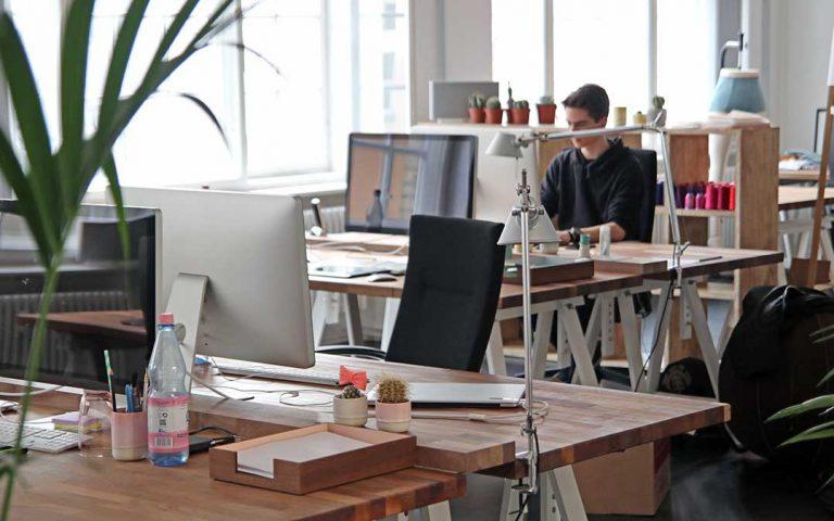 Büroräume kreativ gestalten