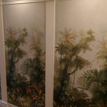Eine Wand mit Stoff bespannen: die Alternative zur Tapete